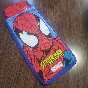 Spider-man Sleeping Bag Unisex Zipper Red & Blue